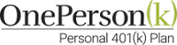 OnePerson K 401(k) logo