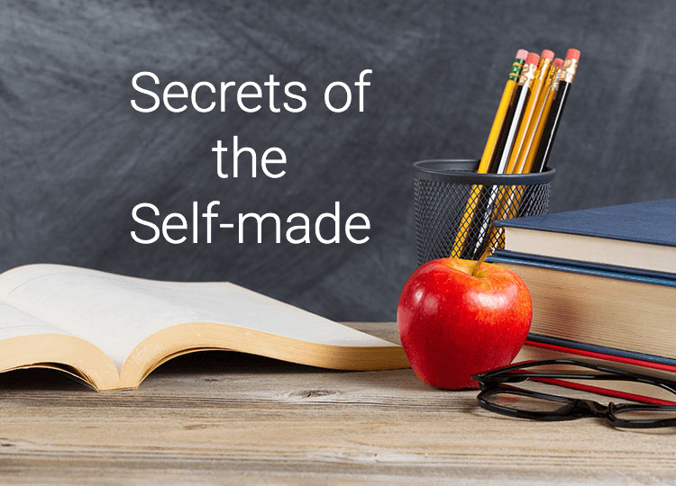 Secrets of the Self-made, Teacher, Pencil, apple and book on table