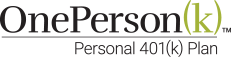 OnePerson(k) logo