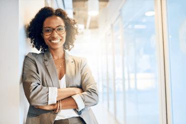 Female African American entrepreneur