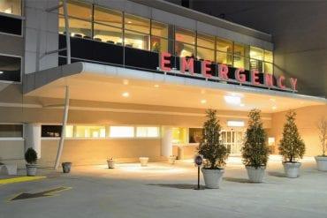 Emergency room building