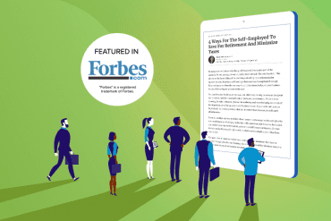 Green featured in Forbes.com graphic
