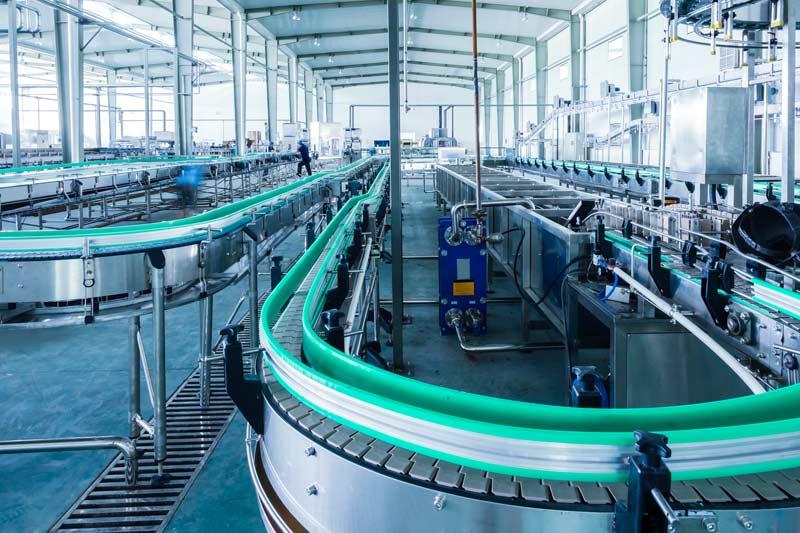 conveyor at factory