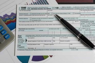tax form 2018