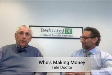 video still from teledoctor making money
