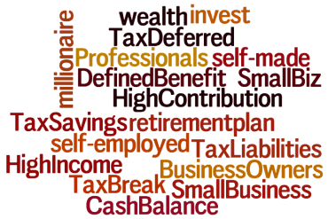 word cloud about high income wealth