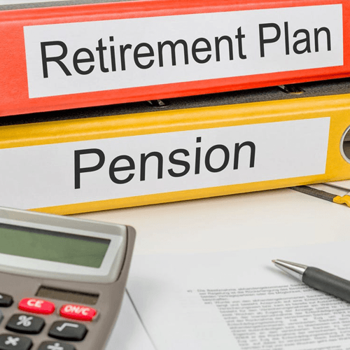 Retirement plan and pension plans